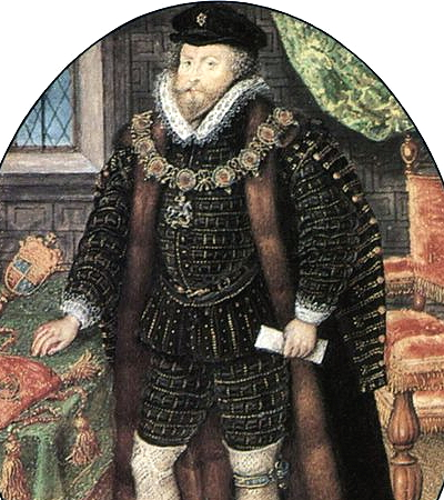 Sir Christopher Hatton by Hilliard c. 1590