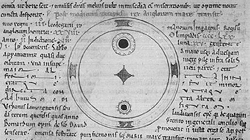 sunspots seen by John of Worcester, 1128
