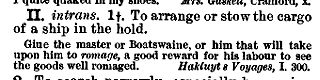 "a definition of ""rummage"" in the Century Dictionary"