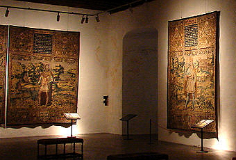 King tapestries at Kronborg Castle