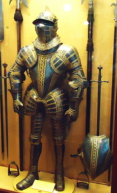 armor of Thomas Sackville, Earl of Dorset