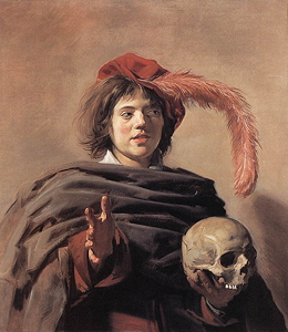 Young Man with Skull, c. 1627